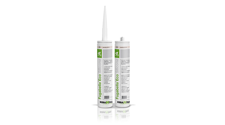 Kerakoll Fugabella Eco Silicone Sealant is an antibacterial sanitary silicone for sealing bathroom tiles