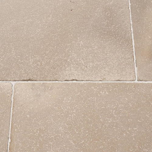 Large Beige Natural Tumbled Limestone Tiles For Walls