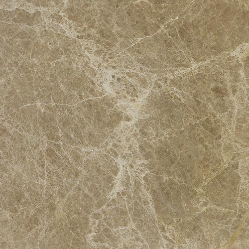 Marble tiles in lovely Imperial Dark sand brown colour with white and grey veins