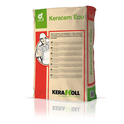 Kerakoll KERACEM ECO normal-setting and rapid-drying Eco-friendly mineral binder 25kg 01173