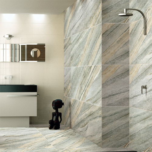Largest Granite Tiles : Sea green granite effect cm porcelain wall floor