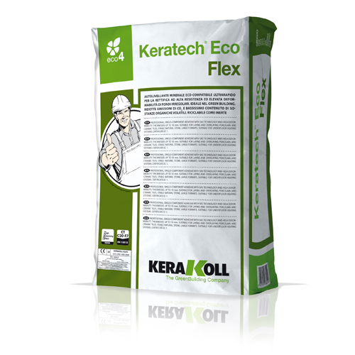 Kerakoll KERATECH ECO FLEX extra rapid hardening Eco leveling compound for interior floors 25kg 01559