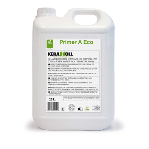 Kerakoll PRIMER A ECO surface preparation treatment for tiling 02053