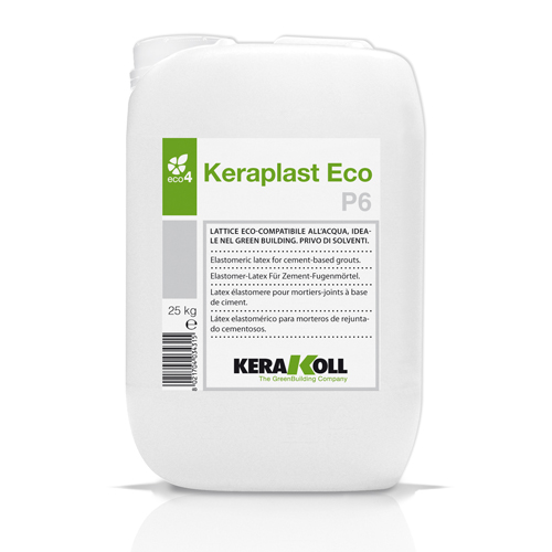 KERAPLAST ECO P6 water-based latex for mineral mortars and slurry keys 5kg 02072
