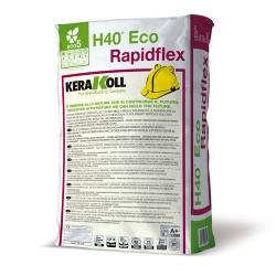 H40 RAPIDFLEX fast setting mineral tile adhesive for timber substrates by Kerakoll