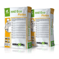 Kerakoll H40 ECO FLOTEX high performance mineral tile adhesive 25kg 12205