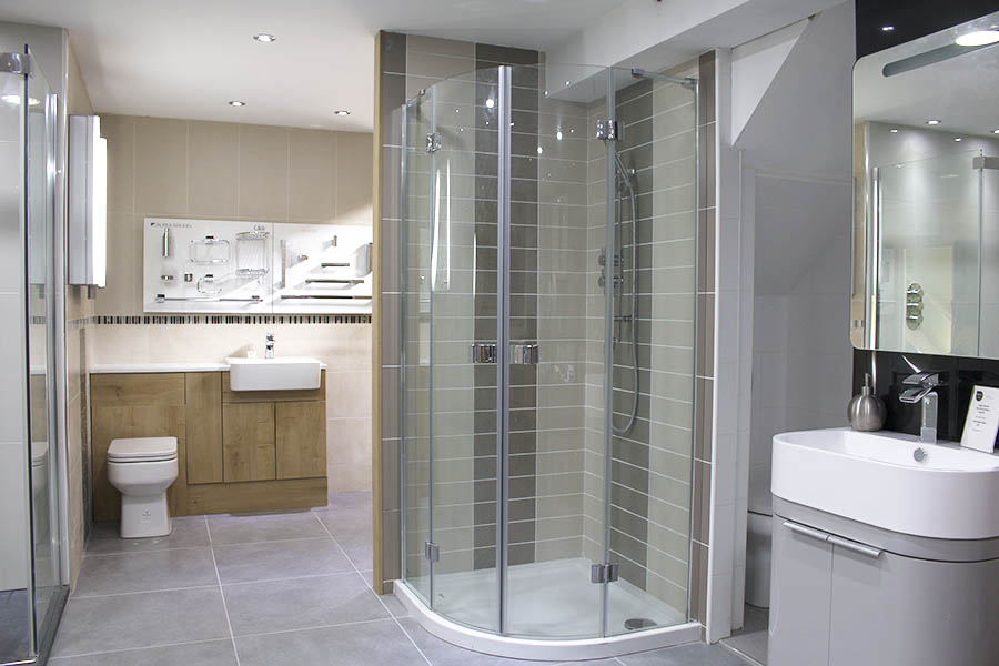 New tile and bathroom displays at uk tiles direct for Bathroom showrooms