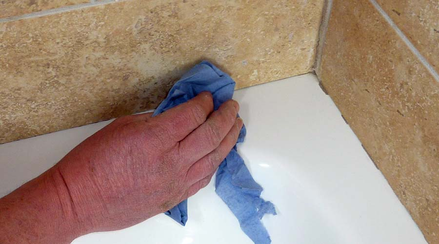 sealing bathroom tiles how to seal a shower tray tips amp advice 14372