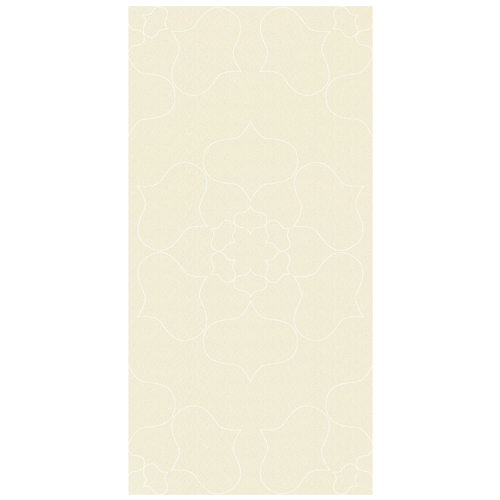 Porcel-Thin PARIS STYLE F5C2 cream flower pattern ultra-thin porcelain tile in 120x60cm size for walls and floors