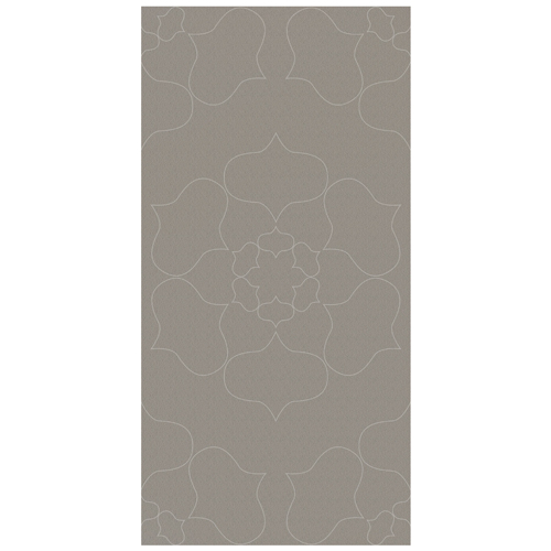 Porcel-Thin PARIS STYLE F5C4 Mocha brown flower pattern ultra-thin porcelain tile in 120x60cm size for walls and floors