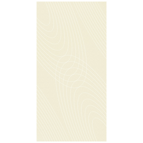 Porcel-Thin PARIS STYLE F7C2 cream with circular wave pattern ultra-thin porcelain tile in 120x60cm size for walls and floors