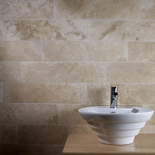 Natural Travertine Wall & Floor Tiles For Bathrooms & Kitchens