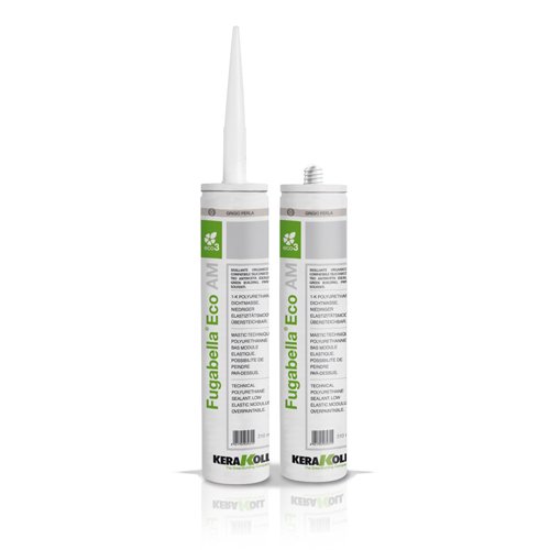 Kerakoll FUGABELLA AM SILICONE anti mould Eco friendly sanitary sealant for expansion joints
