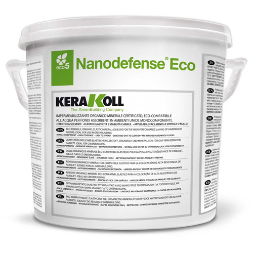 Kerakoll NANODEFENSE mineral substrate waterproofing compound for green building