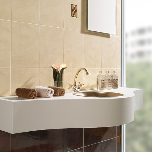 Teguise Arena ceramic bathroom wall and floor tiles
