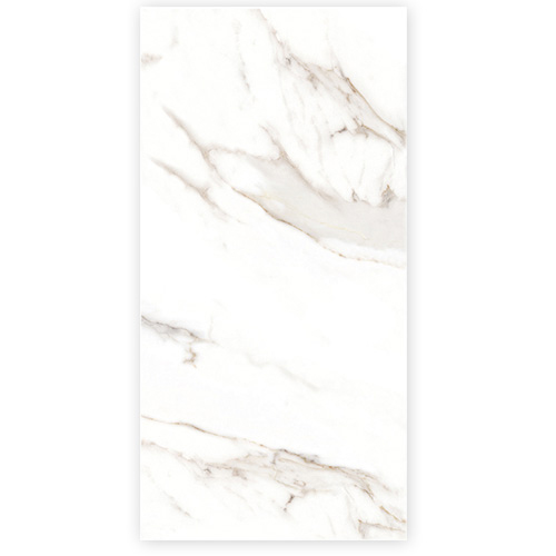 Porcel-Thin FERRARA large format 1200 x 600mm ultra-thin marble effect porcelain tile Style ST9 Carrara