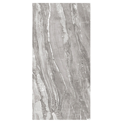 Porcel-Thin FERRARA large format 1200 x 600mm ultra-thin marble effect porcelain tile STYLE ST16 SILK SILVER