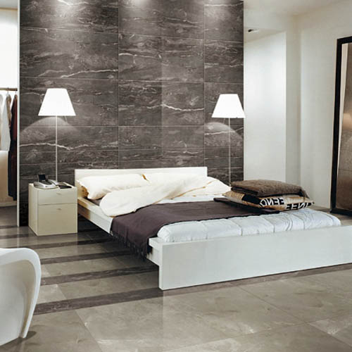 Urban Cement Cream Stone Effect Ceramic Wall Floor Tile: Silk Silver Marble Effect Porcelain Tiles 120x60cm