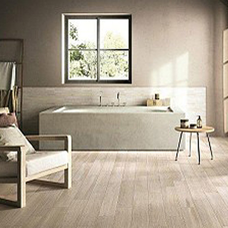 Snow Natural Wood Effect  floor tile
