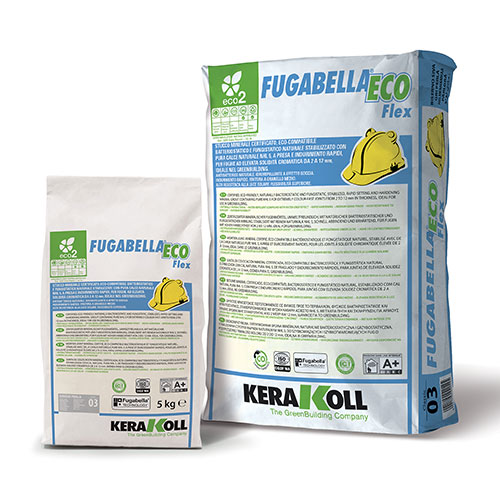 Kerakoll Fugabella Eco Flex eco-friendly tile grout