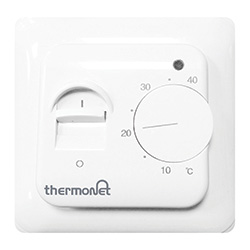 Thermonet manual electric underfloor heating thermostat 5250