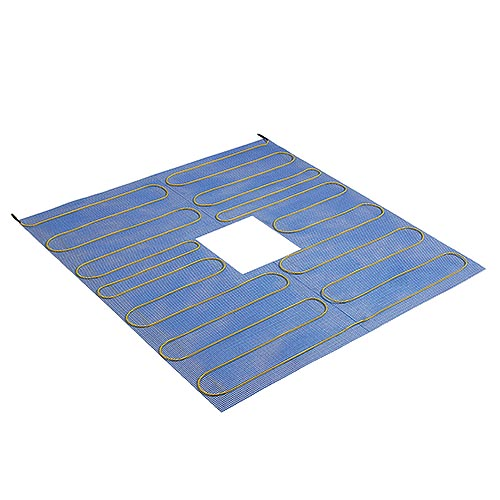 Thermonet shower tray electric heating mat 100mm x 1000mm with central drain